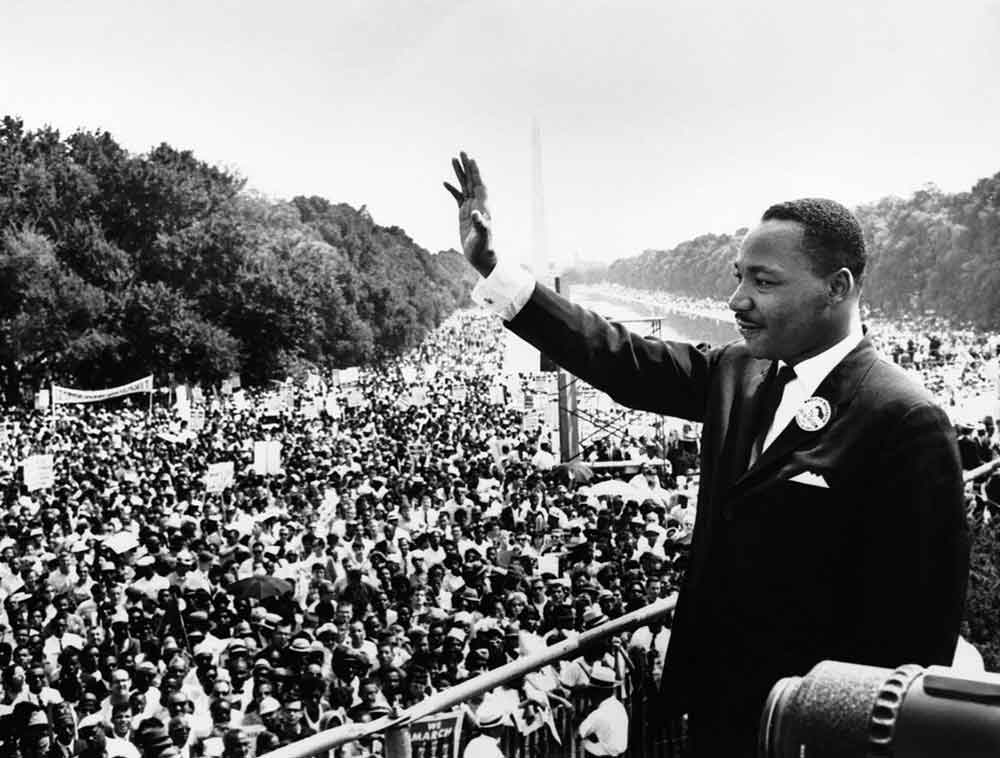 Martin Luther King Power Change World
