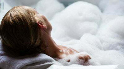 Bubble Sulfate Wash Relax Aromatherapy Bath Towel