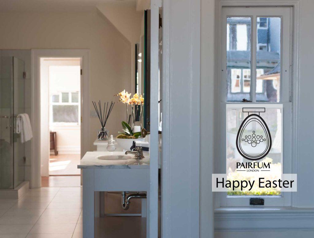 PAIRFUM Happy Easter Natural Home Fragrance Bathroom Natural Reed Diffuser Organic Skin Care Toiletries Eau de Parfum Toilette