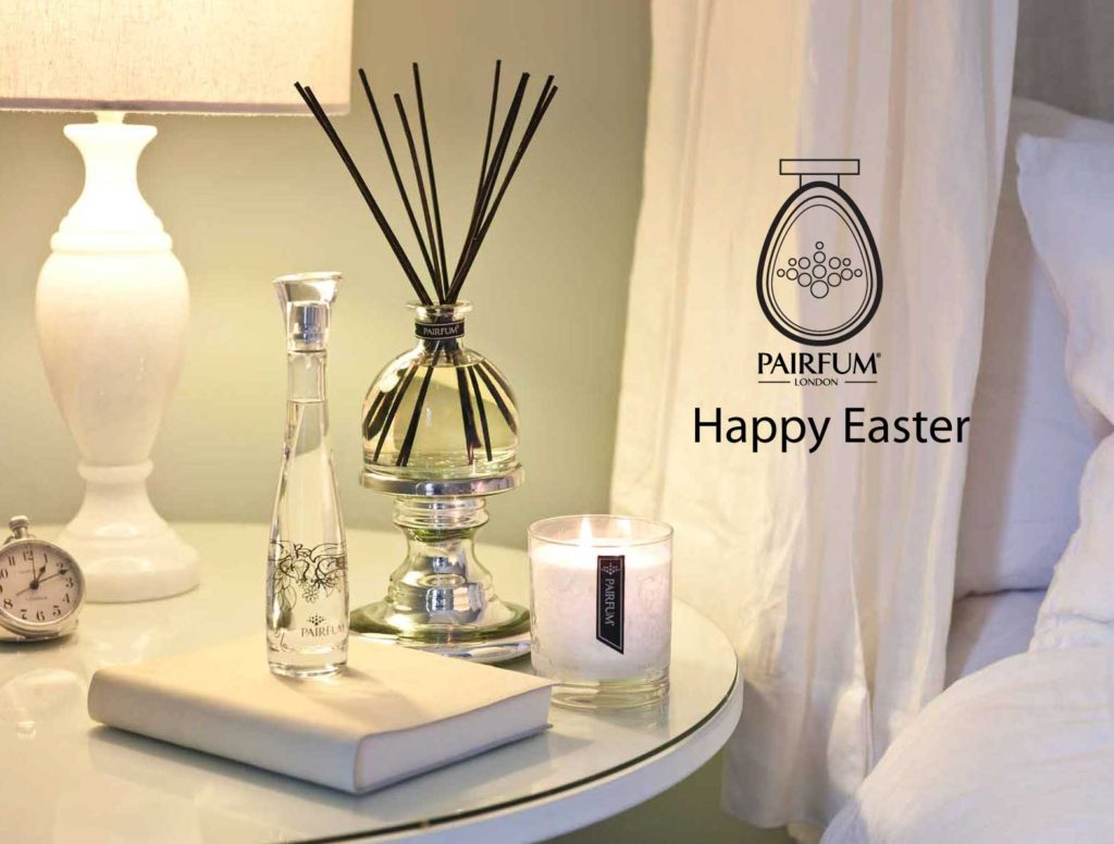 PAIRFUM Happy Easter Home Fragrance Bedroom Luxury Scented Candle Natural Reed Diffuser