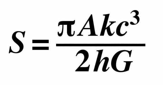 Professor Stephen Hawking Formula Death Equation