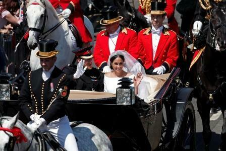 Royal Wedding Meghan Markle Prince Harry Carriage Windsor