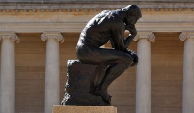 Sculpture Thinker Museum Famous Rodin The Thinker