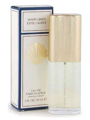 Image Of The Original White Linen Created For Estee Lauder by Sophia Grojsman In 1978