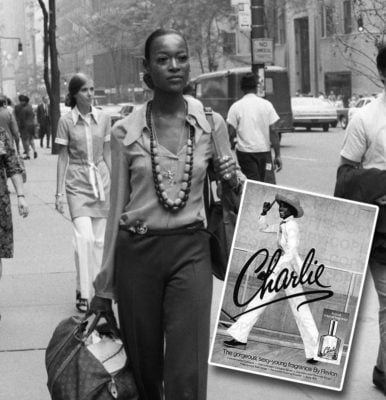 Sims The First African American Woman In History To Be Featured In A Cosmetic Company's Advertising For Charlie Perfume