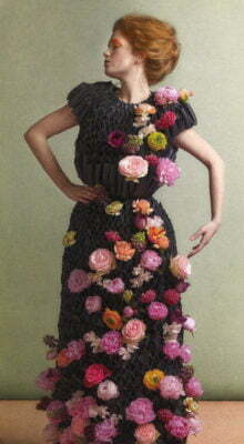 Flower Crown PAIRFUM London Dress