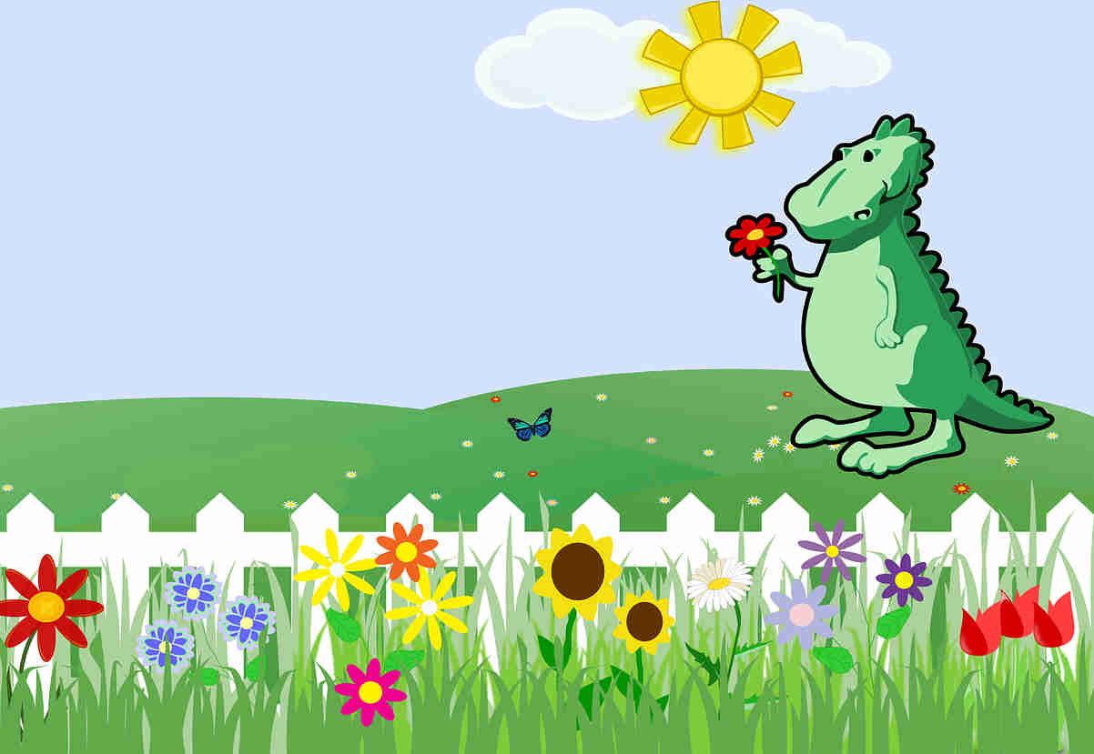 Dinosaur Flower
