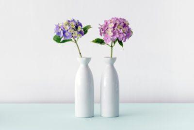 Cermic Vase White 2