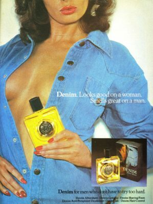 Denim Ad 1977 Looks Good On A Woman