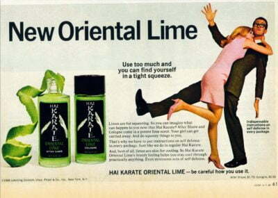 Hai Karate With Oriental Lime 1968 Aftershave