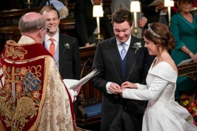 Highlights Royal Wedding Princess Eugenie Jack Brookbank