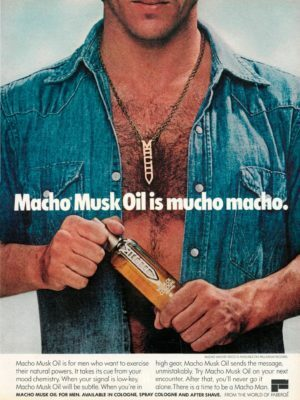 Macho Is Mucho Aftershave Ad
