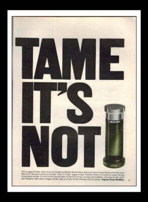 Tame It's Not Aftershave 1970's