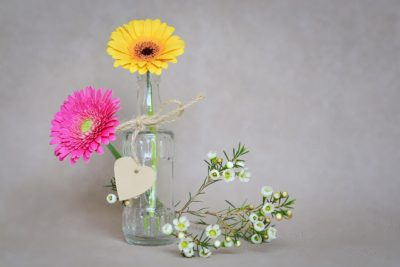 Flowers Bottle 2