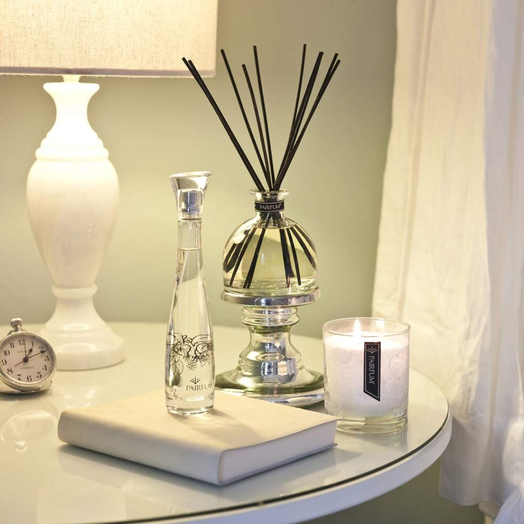 Bedroom Large Reed Diffuser Bell Fragranced Candle Room Spray