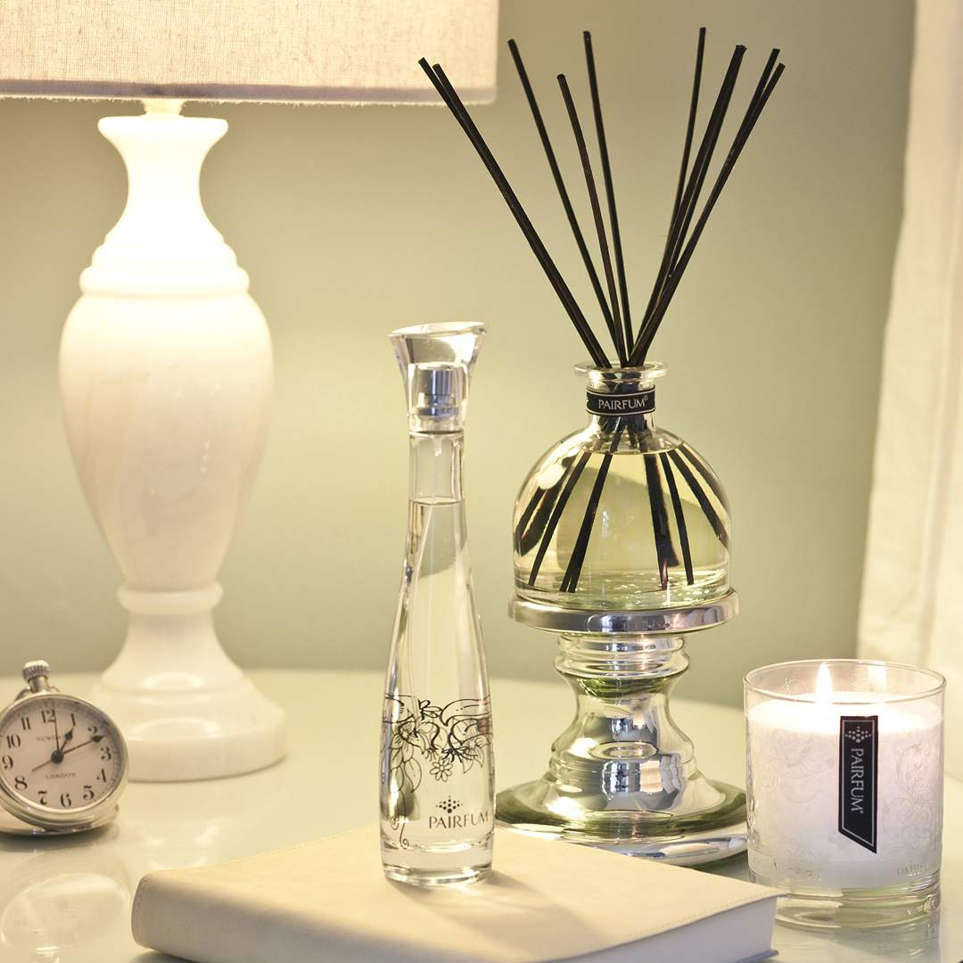 Bedroom Large Reed Diffuser Bell Perfumed Candle Room Spray