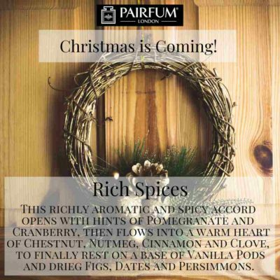 Christmas Coming Pairfum Fragrance Wreath Pine