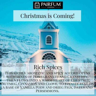 Christmas Coming Pairfum London Fragrance Church