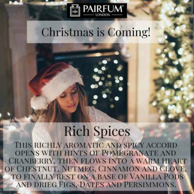 Christmas Coming Pairfum London Fragrance Gift Fireplace Woman