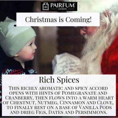 Christmas Coming Pairfum London Fragrance Santa Child