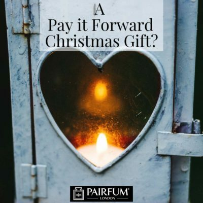 Christmas Pay It Forward Gift Pairfum Heart