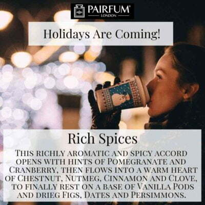 Holidays Coming Pairfum Fragrance Gluhwine Spice Cinnamon