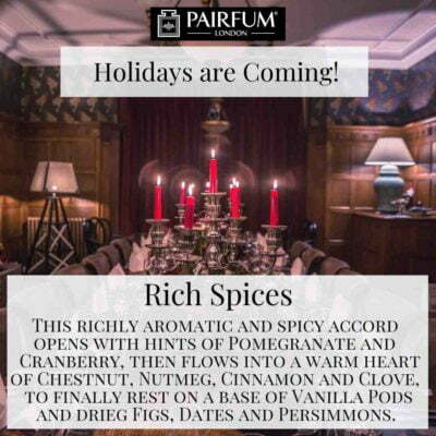 Holidays Coming Pairfum Fragrance Rich Spices Candle Light Table