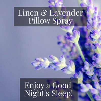 Linen Lavender Sleep Spray Pairfum London