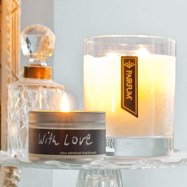 Living Room Large Perfumed Soy Wax Candle Natural