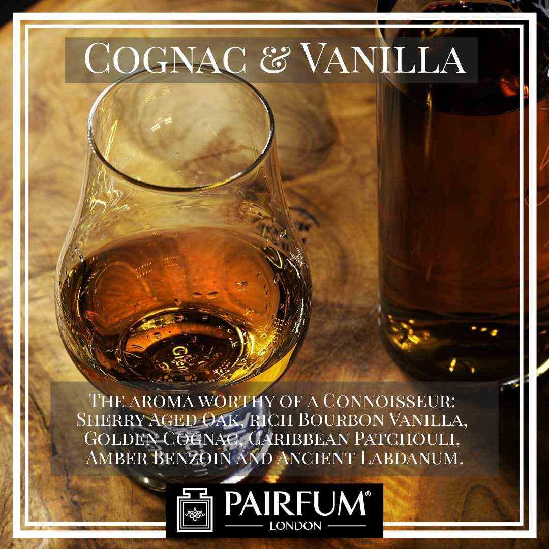 Pairfum London Cognac Vanilla Benzoin Amber Labdanum