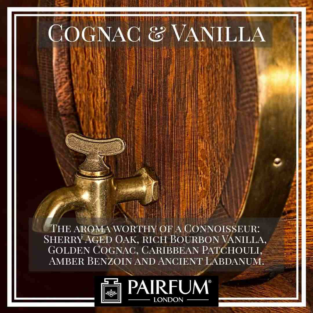 Pairfum London Cognac Vanilla Library Aroma Sherry Cask Wood