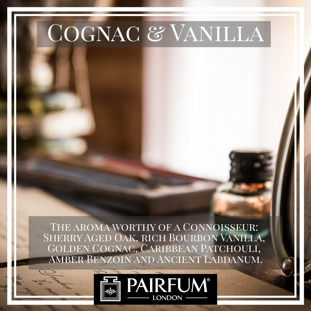 Pairfum London Cognac Vanilla Library Aroma Sherry Wood