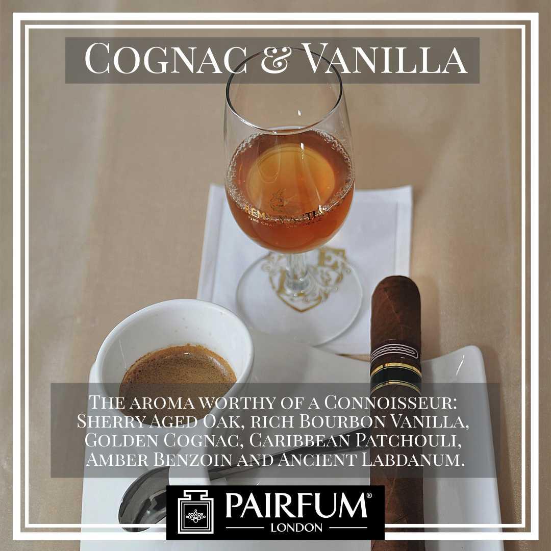 Pairfum London Cognac Vanilla Oak Benzoin Labdanum