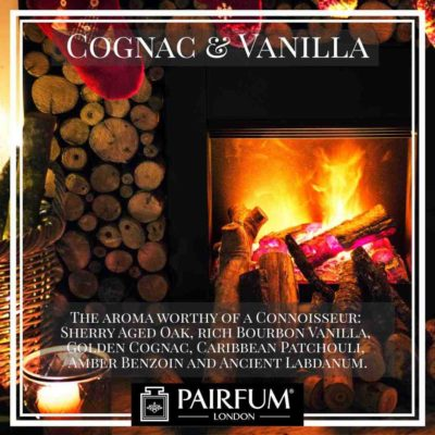 Pairfum London Cognac Vanilla Oak Coconut Fire Wood