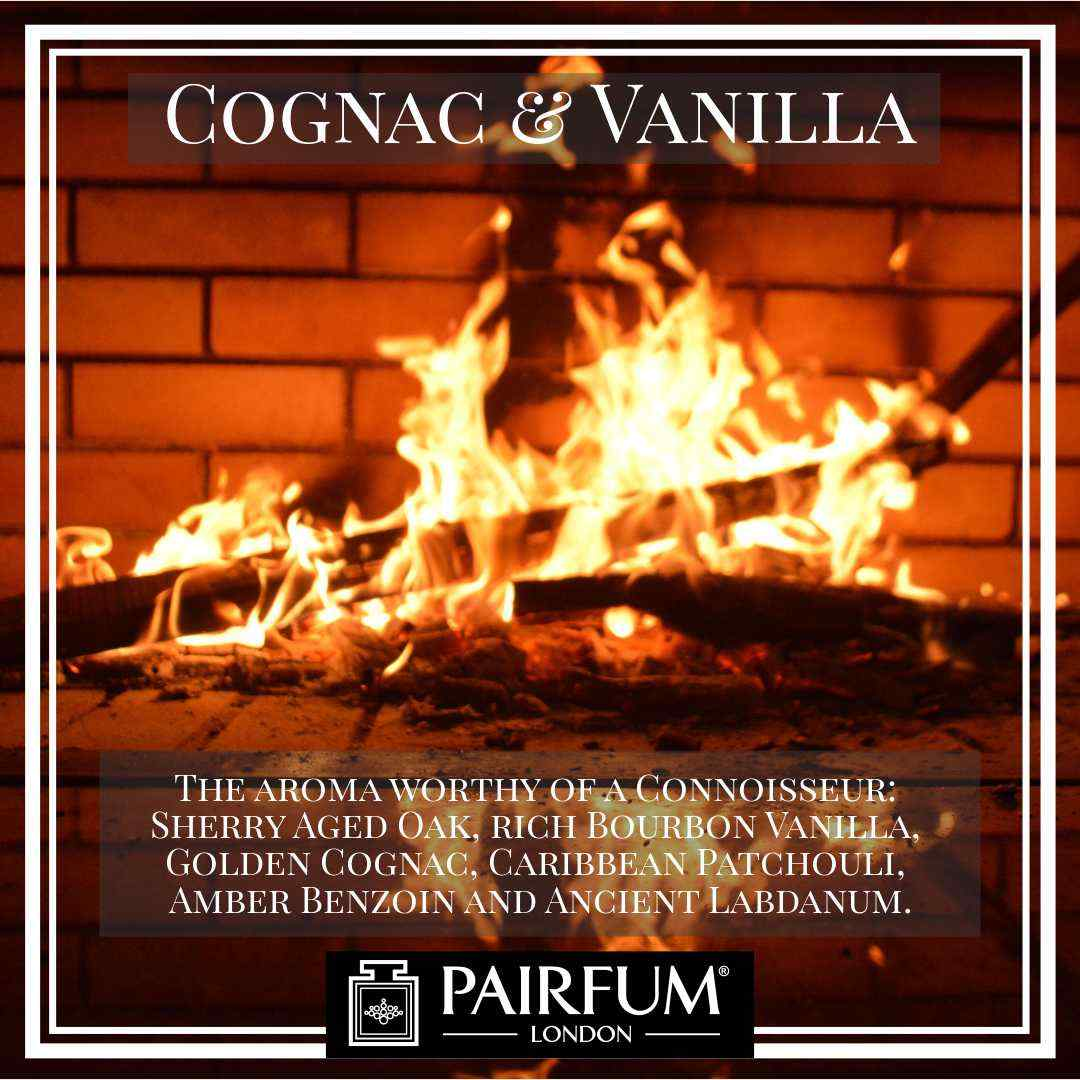 Pairfum London Cognac Vanilla Oak Coconut Fireplace