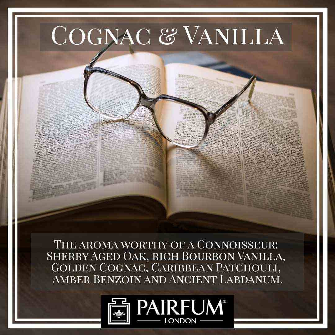 Pairfum London Cognac Vanilla Oak Coconut Library Glasses