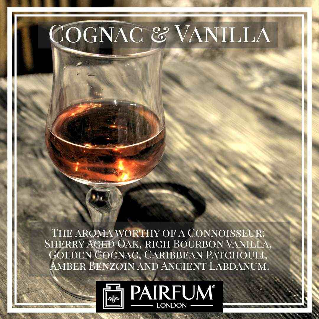 Pairfum London Cognac Vanilla Oak Coconut Woody