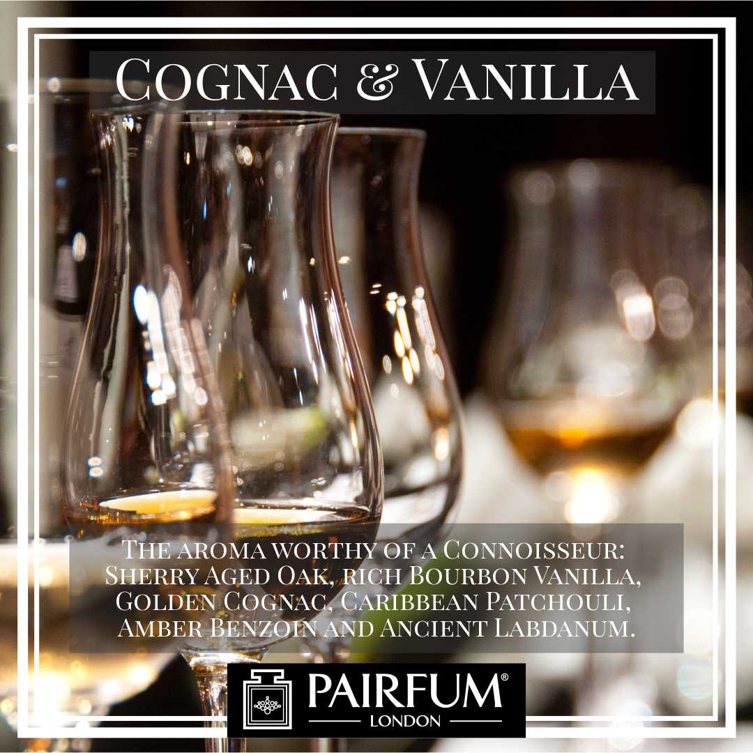 Pairfum London Cognac Vanilla Oak Gold Amber