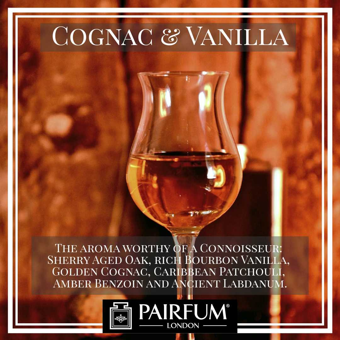 Pairfum London Cognac Vanilla Sherry Aged Oak Gold