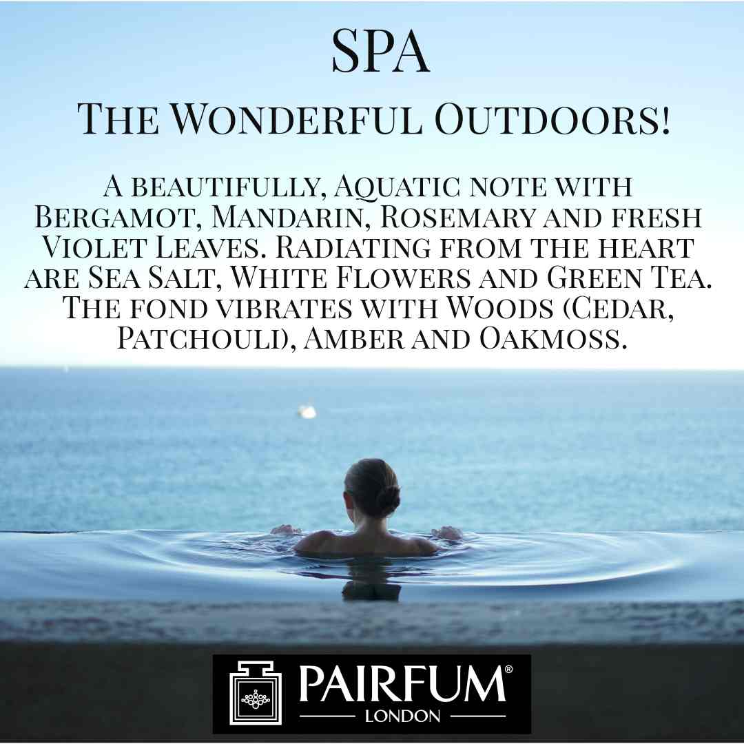 Pairfum London Spa Outdoor Wonderful Fragrance