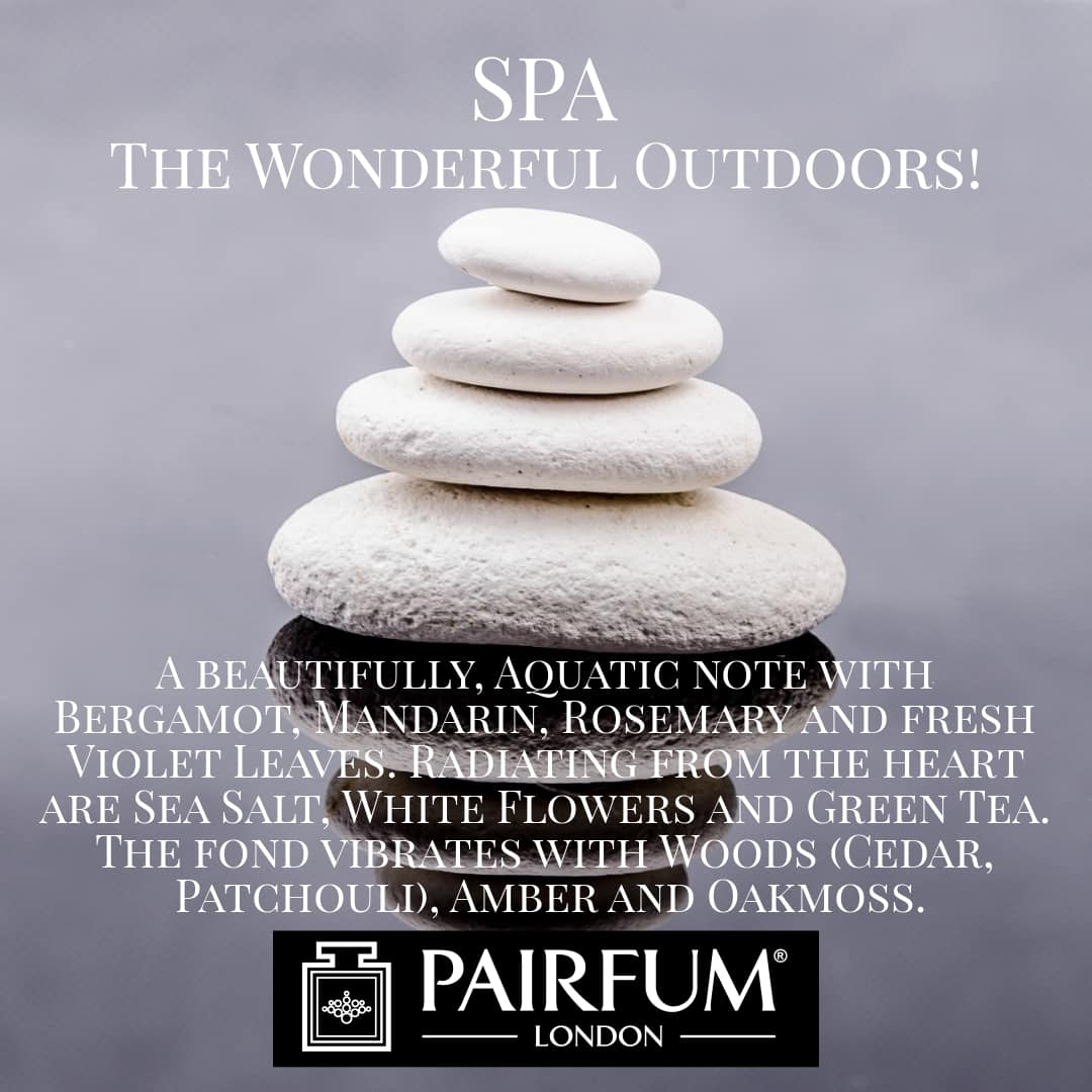 Spa Wonderful Outdoors Pairfum London 10