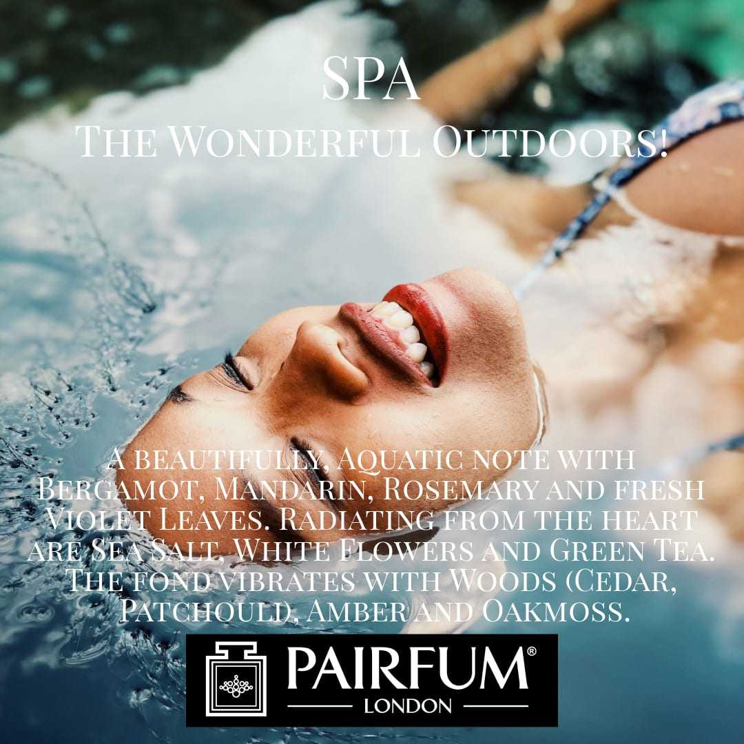 Spa Wonderful Outdoors Pairfum London 5