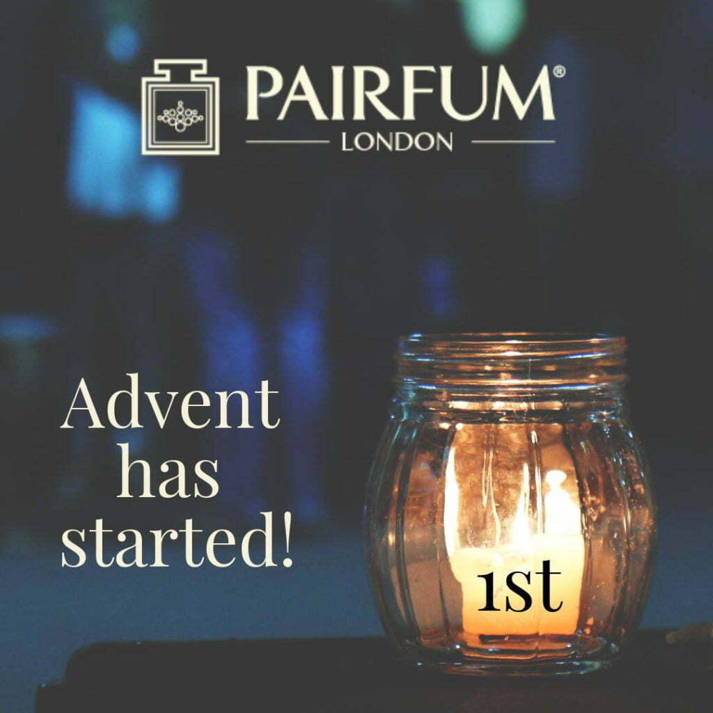 Advent Start Christmas Candle Light Glass