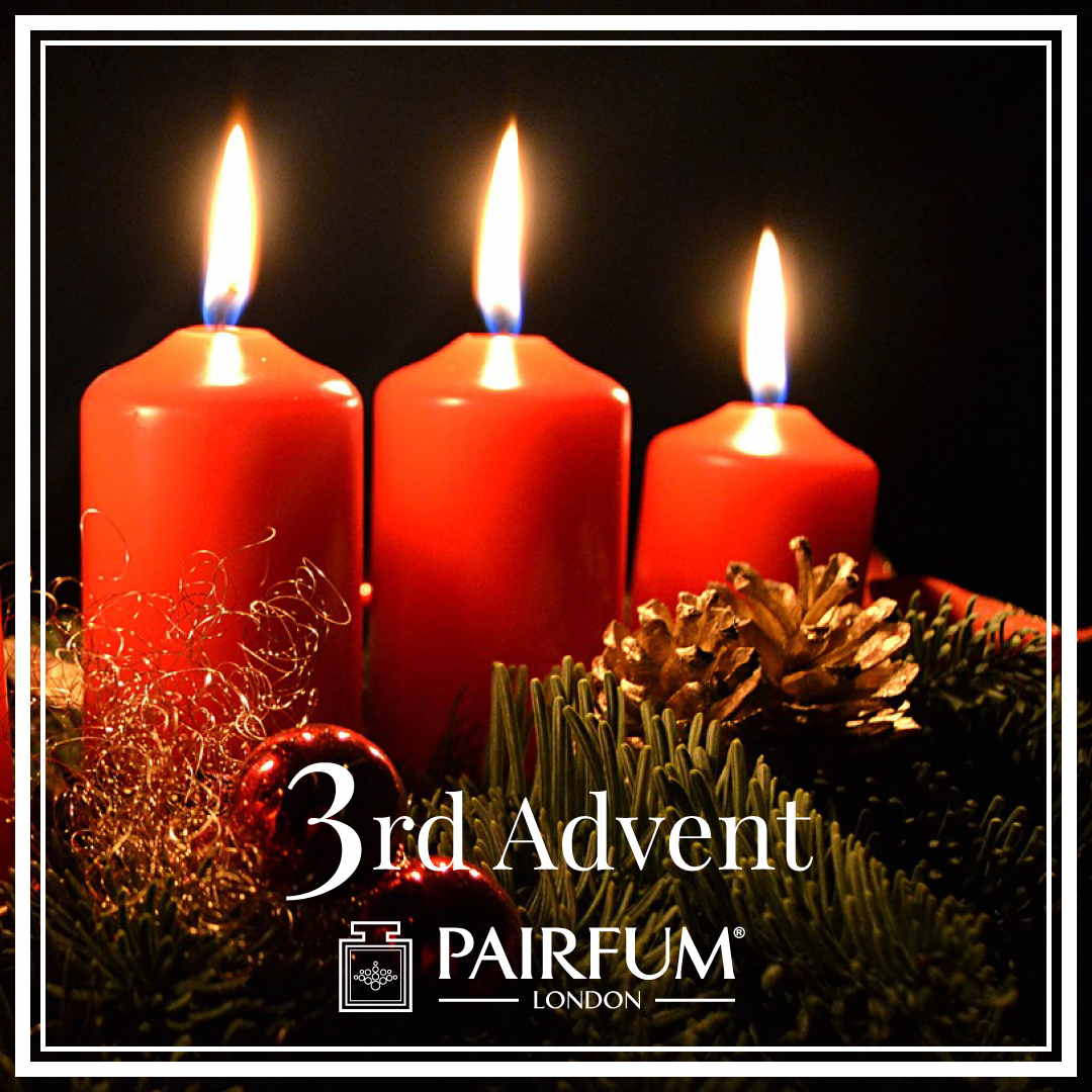 sunday was the 3rd of advent pairfum london. Black Bedroom Furniture Sets. Home Design Ideas