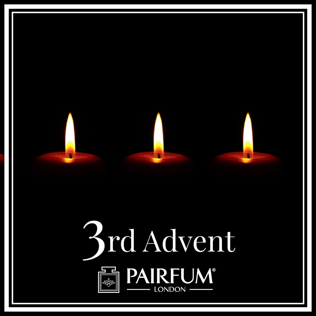 Christmas 3rd of Advent Calendar Candle Perfume
