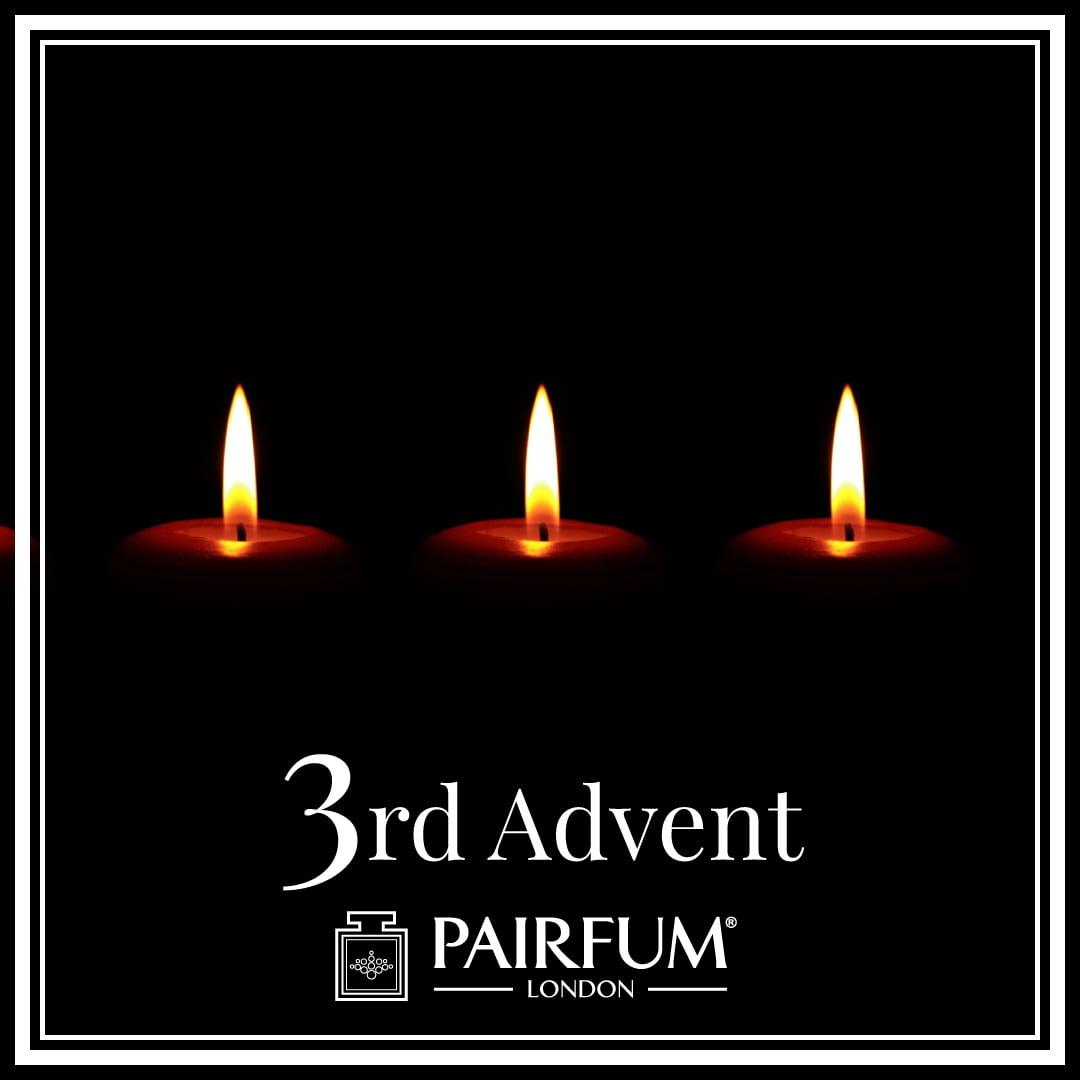 Christmas 3rd of Advent Calendar Candle Perfume