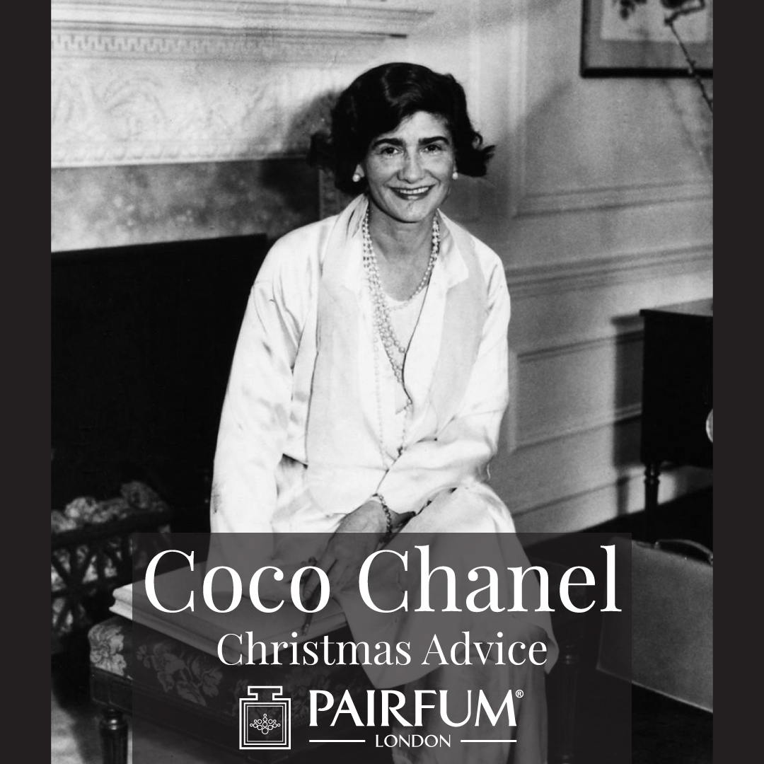 Coco Chanel Christmas Advice Scent Pairfum London