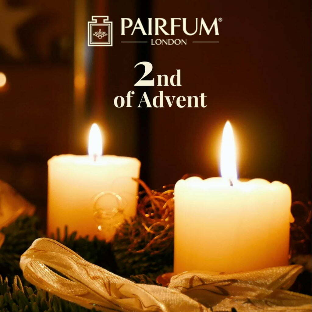 Fragrance Christmas 2nd of Advent Calendar Candle
