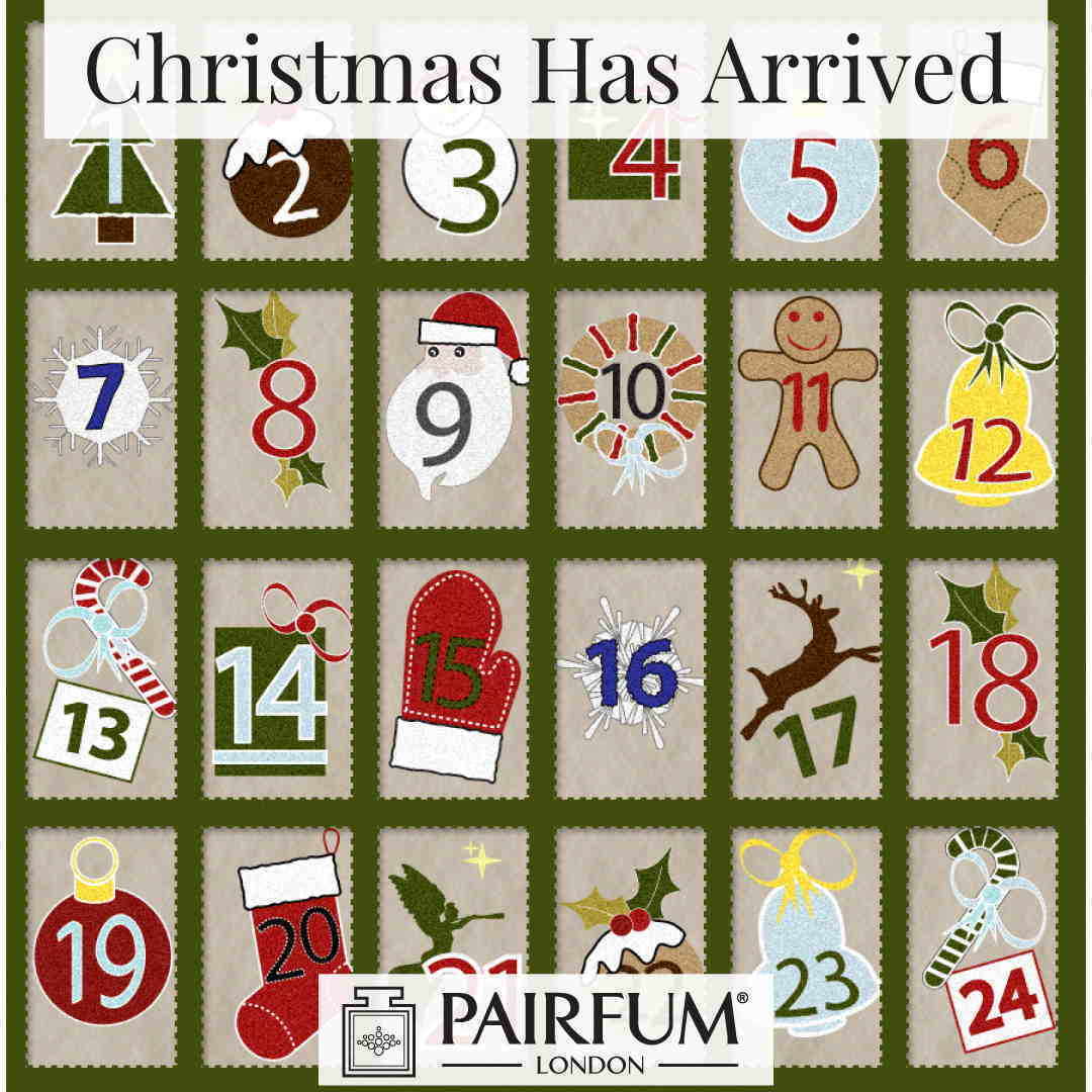 Has Arrived Advent Christmas Calendar