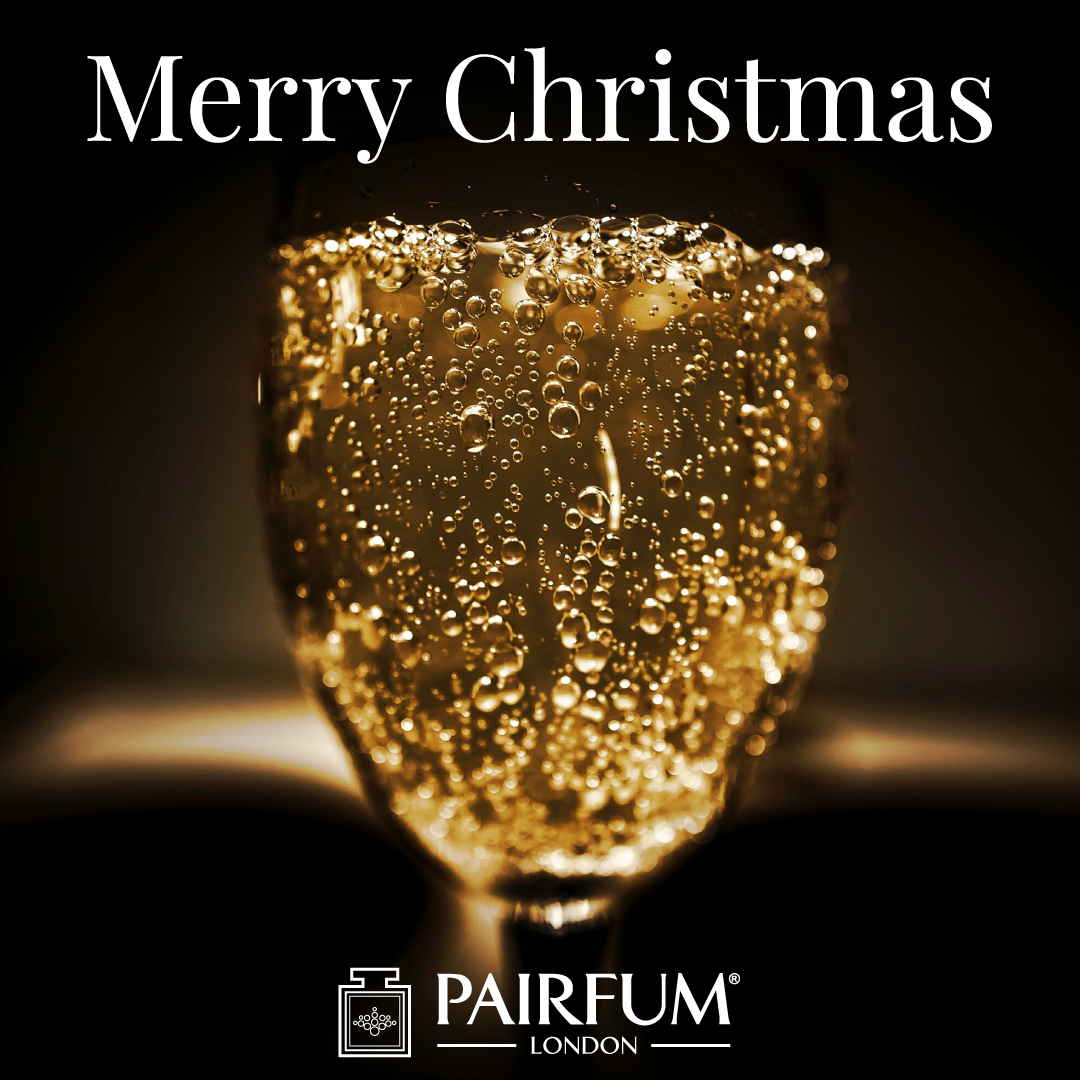 Merry Christmas Gift Pairfum London Perfume Champagne Sparkling